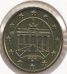 Moeda > 10cêntimosdeeuro, 2007-2019 - Alemanha  - reverse