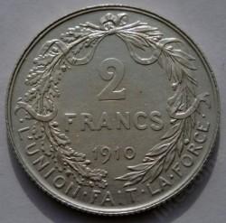 Münze > 2Franken, 1910-1912 - Belgien  (Legend in French - 'ALBERT ROI DES BELGES') - reverse
