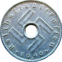 Moneda > 5reichspfennig, 1940-1941 - Alemania - Tercer Reich  - obverse