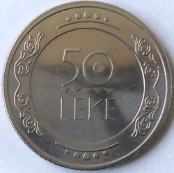 Moneda > 50lekë, 2004 - Albania  - obverse