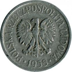 Coin > 5groszy, 1958-1972 - Poland  - obverse