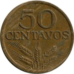 Moneta > 50centavos, 1969-1979 - Portogallo  - obverse