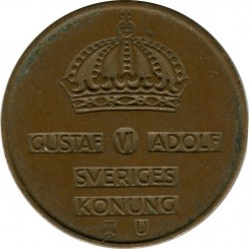 Монета > 5йоре, 1952-1971 - Швеция  - reverse