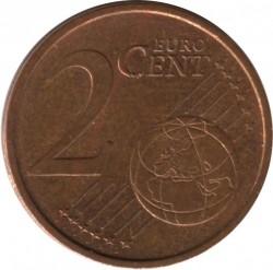 Moeda > 2cêntimosdeeuro, 1999-2009 - Espanha  - reverse