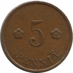 Münze > 5Penny, 1935 - Finnland  - obverse