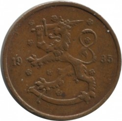 Münze > 5Penny, 1935 - Finnland  - reverse