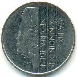 Coin > 2½gulden, 1982-2001 - Netherlands  - obverse