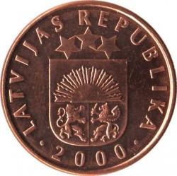 מטבע > 2סנטים, 1992-2009 - לטביה  - obverse