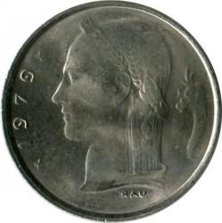 """Minca > 1frank, 1979 - Belgicko  (Nadpis v holandčine - """"BELGIE"""") - obverse"""