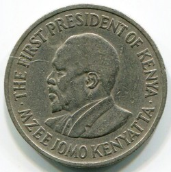 Кованица > 50центи, 1969-1978 - Кенија  - obverse