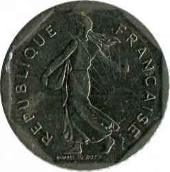 Coin > 2francs, 1981 - France  - reverse