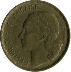 Coin > 50 francs, 1951 - France  - reverse