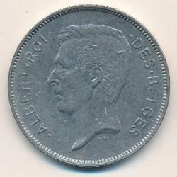 Münze > 20Franken, 1931-1932 - Belgien  (Legend in French - 'ALBERT ROI DES BELGES') - obverse