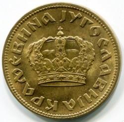 Moneta > 2dinary, 1938 - Jugosławia  (Big crown on obverse) - obverse