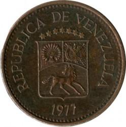Coin > 5céntimos, 1974-1977 - Venezuela  - obverse