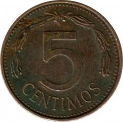 Coin > 5céntimos, 1974-1977 - Venezuela  - reverse