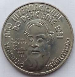 Moneta > 25scudi, 1982 - Portogallo  (Anno internazionale delle persone disabili) - reverse