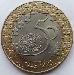 Moneda > 200escudos, 1995 - Portugal  (50 Aniversario - Naciones Unidas) - reverse
