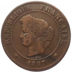 Monedă > 5centime, 1871-1898 - Franța  - obverse
