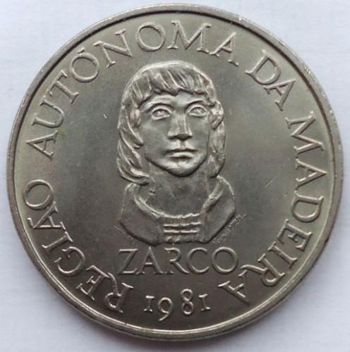 25 Escudos 1981 Madeira Portugal Münzen Wert Ucoinnet