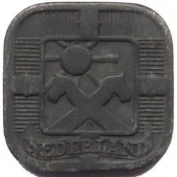 Monēta > 5centi, 1941-1943 - Nīderlande  - obverse