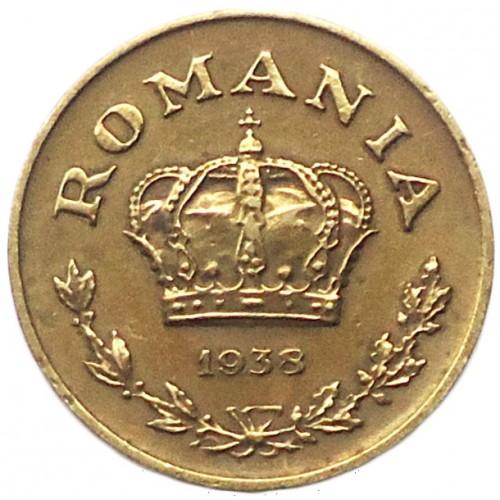 1 Leu 1938 1941 Rumänien Münzen Wert Ucoinnet
