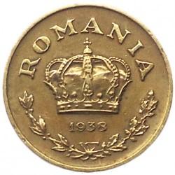 العملة > 1ليو, 1938-1941 - رومانيا  - obverse