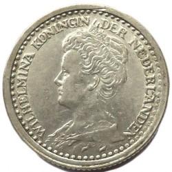 Monedă > 10cenți, 1910-1925 - Regatul Țărilor de Jos  - obverse