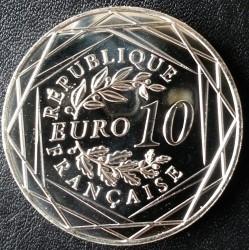 Moneda > 10euros, 2015 - Francia  (Gallo) - obverse