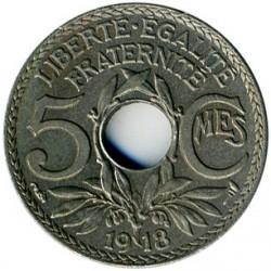 سکه > 5سنتیم, 1917-1920 - فرانسه  - reverse