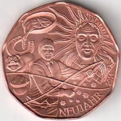 Moneda > 5euros, 2014 - Austria  (Nuevo Año) - reverse