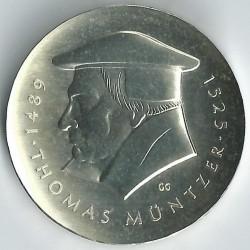 Moneda > 20marcos, 1989 - Alemania - RDA  (500º Aniversario - Muerte de Thomas Müntzer) - reverse