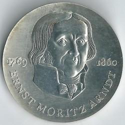 Moneda > 20marcos, 1985 - Alemania - RDA  (125º Aniversario - Muerte de Ernst Moritz Arndt) - reverse