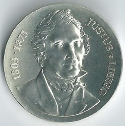 Moneda > 10marcos, 1978 - Alemania - RDA  (175º Aniversario - Nacimiento de Justus von Liebig) - obverse