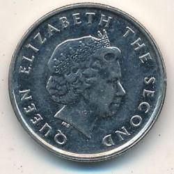 Νόμισμα > 10Σέντς, 2002-2007 - Ανατολική Καραϊβική  - obverse