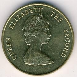Νόμισμα > 1Δολάριο, 1981-1986 - Ανατολική Καραϊβική  - obverse