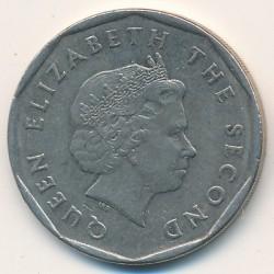 سکه > 1دلار, 2002-2007 - کاراییب شرقی  - obverse