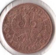 Coin > 1grosz, 1934 - Poland  - obverse