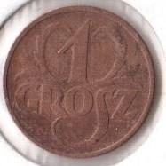 Coin > 1grosz, 1934 - Poland  - reverse