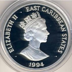 Νόμισμα > 10Δολάρια, 1994 - Ανατολική Καραϊβική  (FIFA World Cup 1994) - obverse