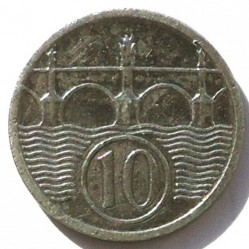 Coin > 10hellers, 1940-1944 - Bohemia and Moravia  - reverse