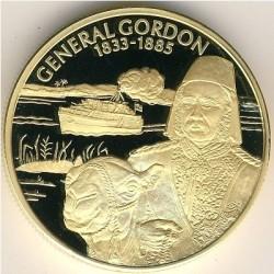 Moneta > 2dollari, 2003 - Caraibi Orientali  (Capi militari britannici - Maggior-Generale Charles George Gordon) - reverse