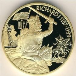 Moneta > 2dollari, 2003 - Caraibi Orientali  (Capi militari britannici - Riccardo I d'Inghilterra) - reverse