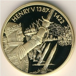 Moneta > 2dollari, 2003 - Caraibi Orientali  (Capi militari britannici - Enrico V d'Inghilterra) - reverse
