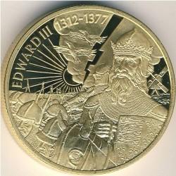 Moneta > 2dollari, 2003 - Caraibi Orientali  (Capi militari britannici - Edoardo III d'Inghilterra) - reverse