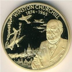 Νόμισμα > 2Δολάρια, 2003 - Ανατολική Καραϊβική  (British Military Leaders - Winston Churchill) - reverse