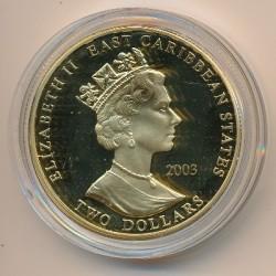 Moneta > 2dollari, 2003 - Caraibi Orientali  (Capi militari britannici - Bernard Law Montgomery) - obverse