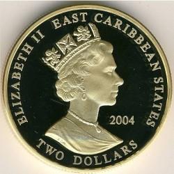 Moneta > 2dollari, 2004 - Caraibi Orientali  (Capi militari britannici - Enrico VII d'Inghilterra) - obverse