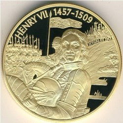 Moneta > 2dollari, 2004 - Caraibi Orientali  (Capi militari britannici - Enrico VII d'Inghilterra) - reverse