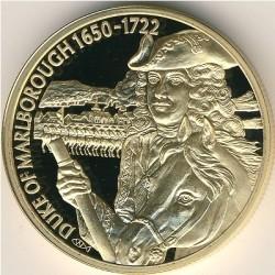 Moneta > 2dollari, 2004 - Caraibi Orientali  (Capi militari britannici - John Churchill, I duca di Marlborough) - reverse